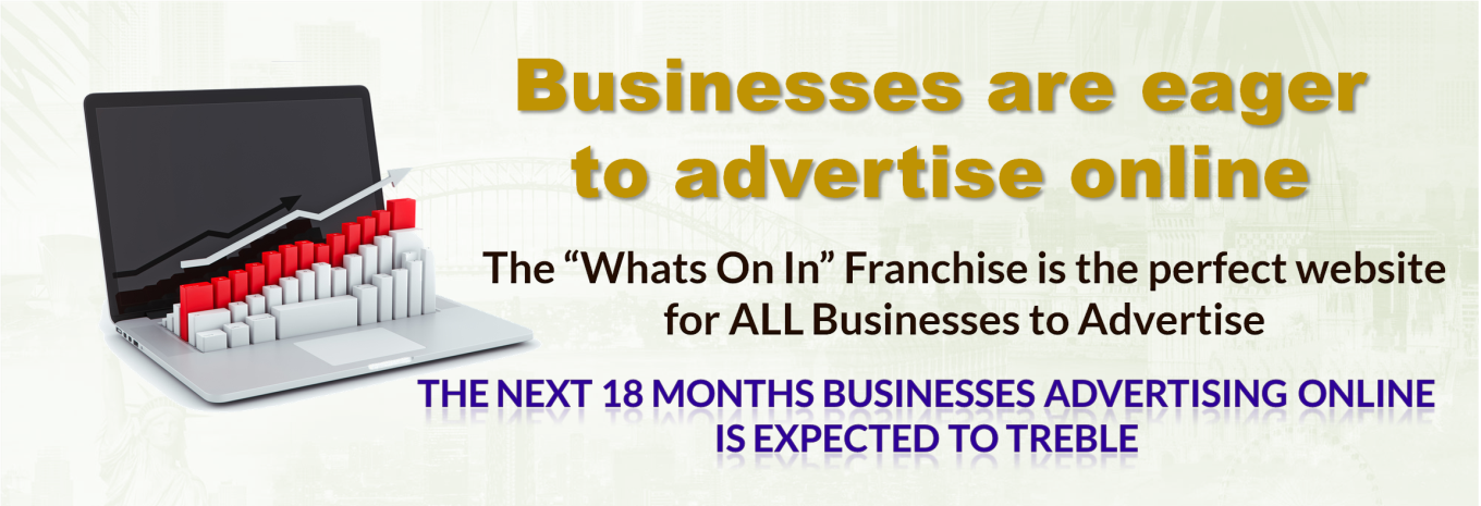 Businesses are eager to advertise online