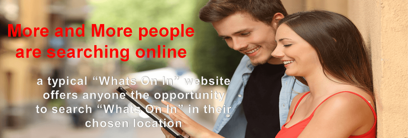 More and More people are searching online