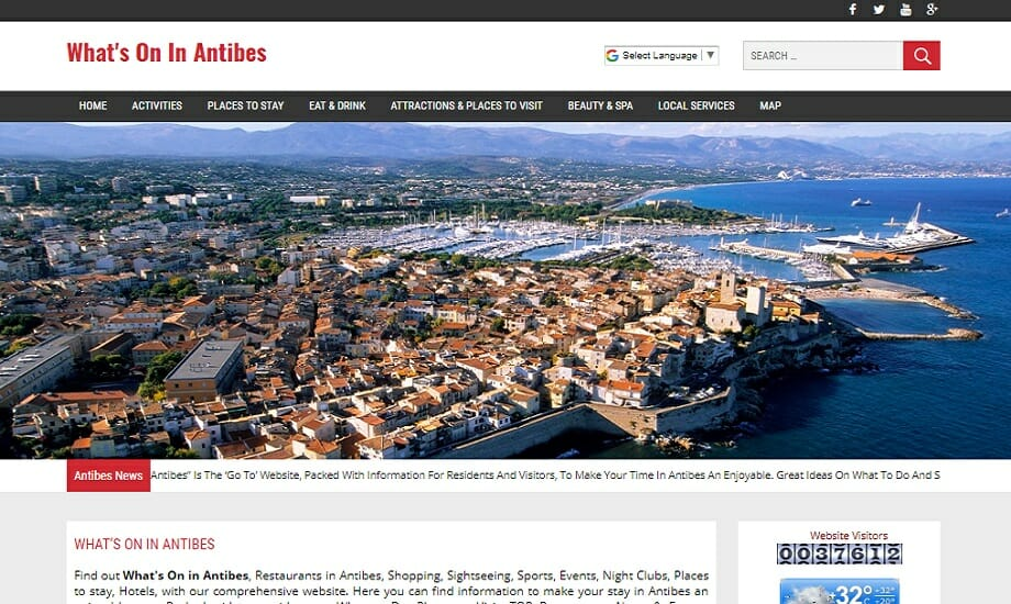 Whats on in Antibes