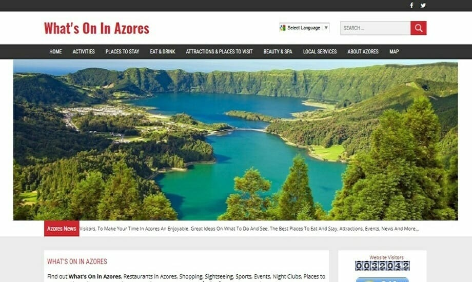 Whats On In Azores