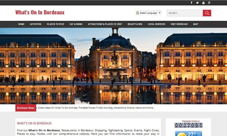 Whats on in Bordeaux