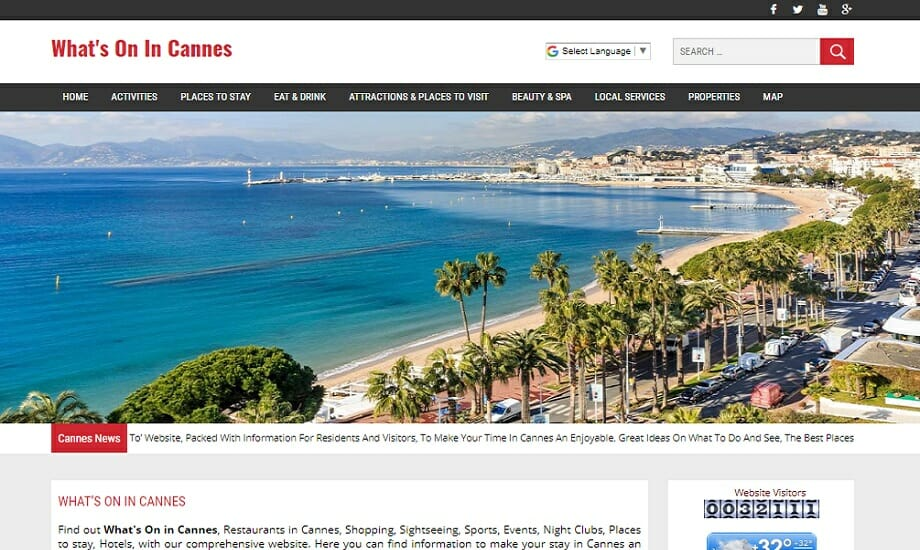 Whats on in Cannes