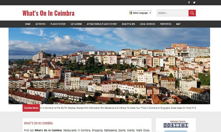 Whats On In Coimbra