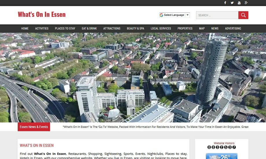 Whats On In Essen