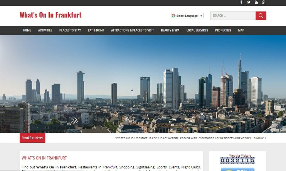 Whats On In Frankfurt
