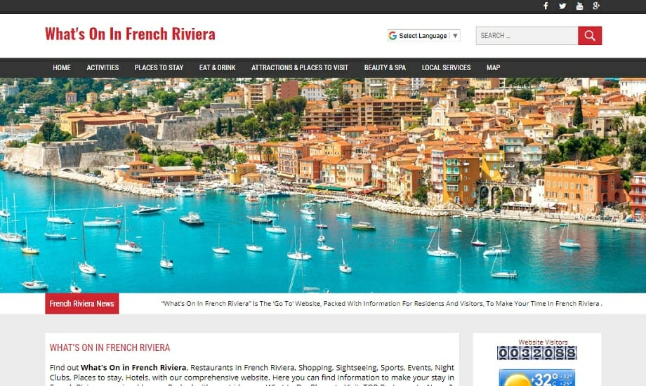 What's On In French Riviera