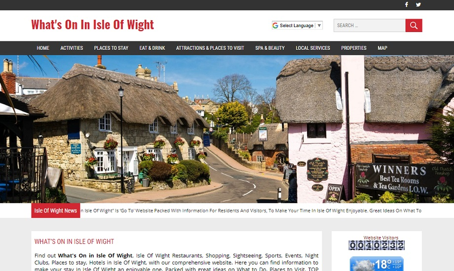 Whats On In Isle Of Wight