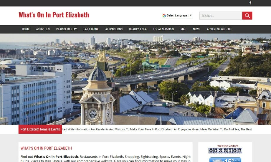Whats On In Port Elizabeth