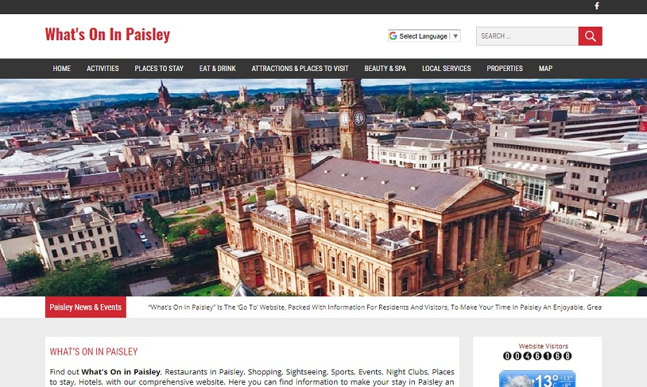 Whats On In Paisley