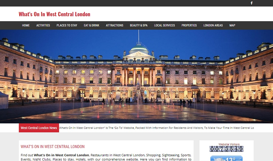 Whats On In West Central London