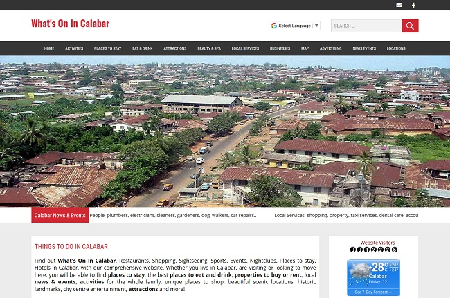 Whats On In Calabar