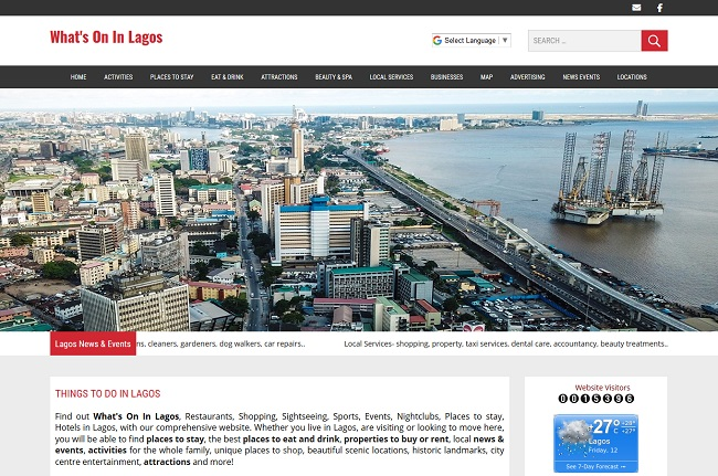 Whats On In Lagos